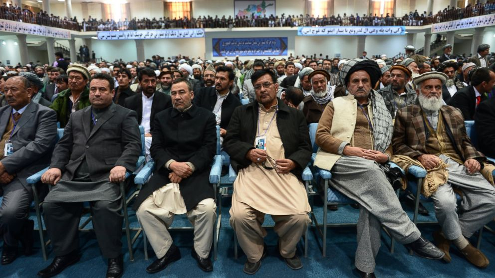 PHOTO: Members of the Afghan Loya Jirga
