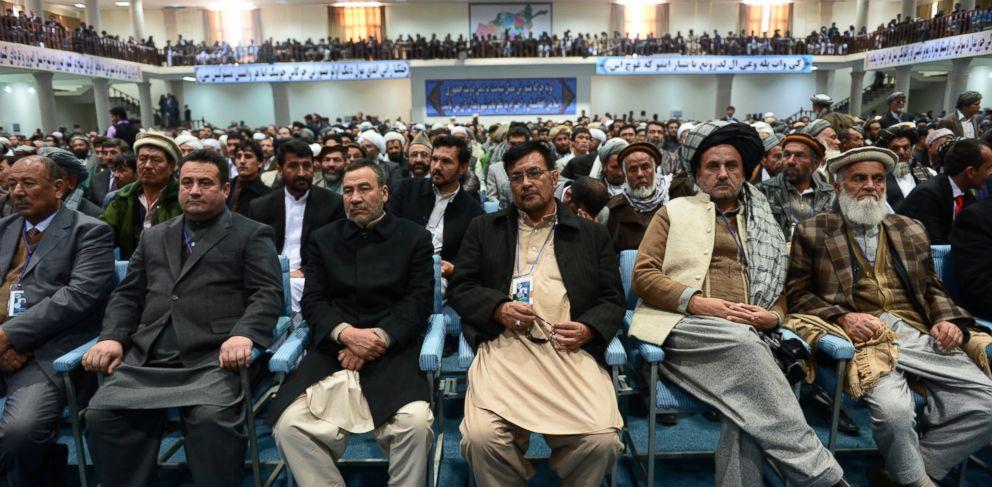 PHOTO: Members of the Afghan Loya Jirga