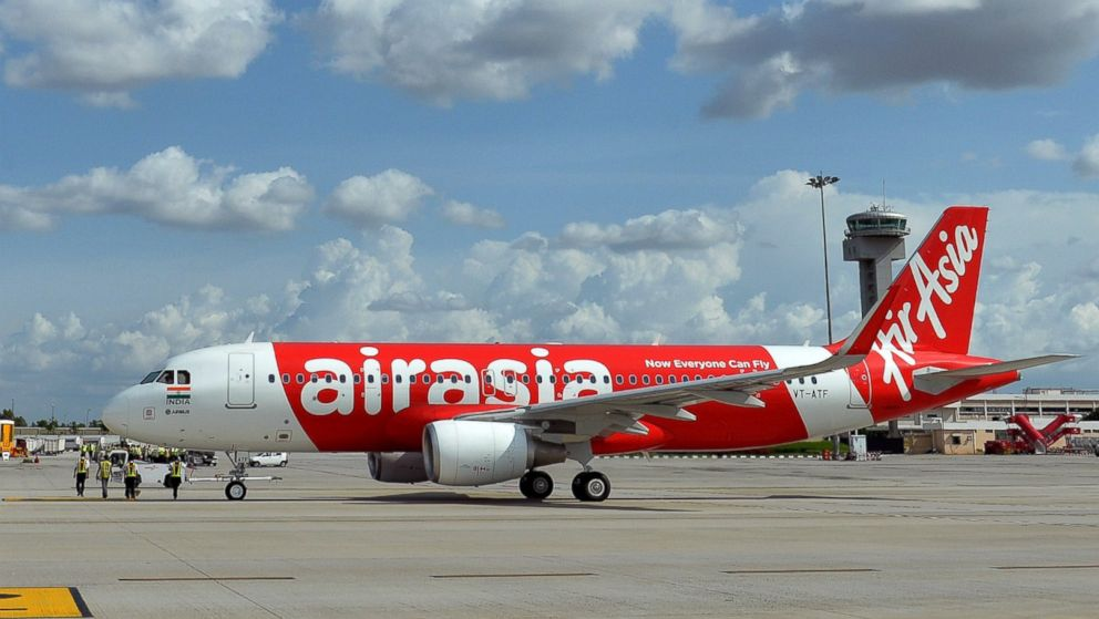 PHOTO: An AirAsia Airbus 320, not pictured, has gone missing on a flight from Surabaya, Indonesia, to Singapore, Dec. 27, 2014.