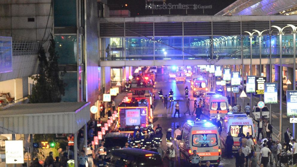 US-Istanbul Flights Suspended After Terrorist Attack