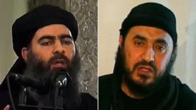 PHOTO: Al-Furqan Media shows alleged Islamic State of Iraq and the Levant (ISIL) leader Abu Bakr al-Baghdadi | Qatari based satellite TV station Al-jazeera, shows a man identifying himself as Al-Qaedas Iraq frontman Abu Musab al-Zarqawi.
