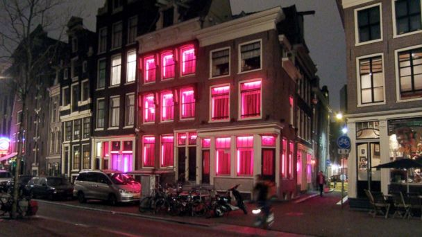 PHOTO: Red Light District Amsterdam