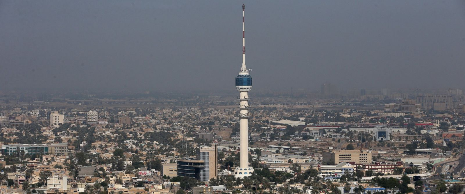 PHOTO:Iraqs Mamoun Tower is seen in this file photo, Dec. 9, 2014, in Baghdad.