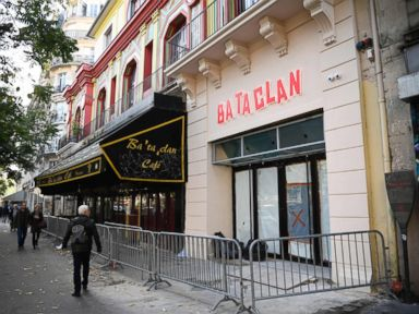 PHOTO: The Bataclan concert hall, one of the targets of the November 13, 2015 terrorist attacks, in Paris, Oct. 27, 2016.