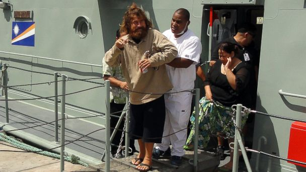 GTY castaway2 kab 140203 16x9 608 Instant Index: Castaway Says He Survived 13 Months in the Pacific Ocean