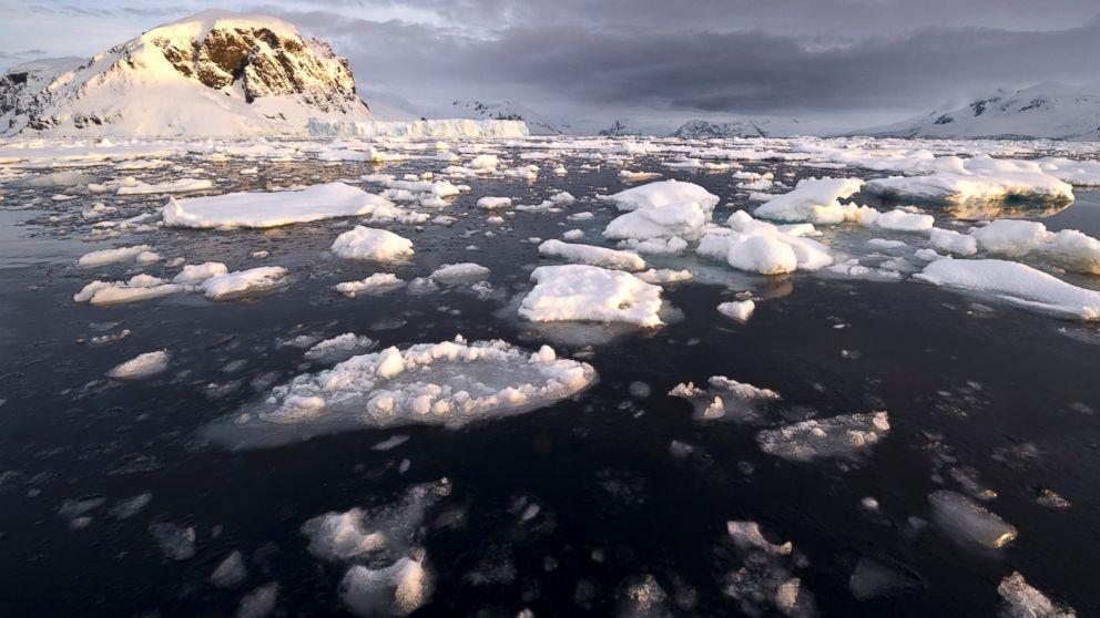 PHOTO: Filmmaker Randy Olson talks about climate change.