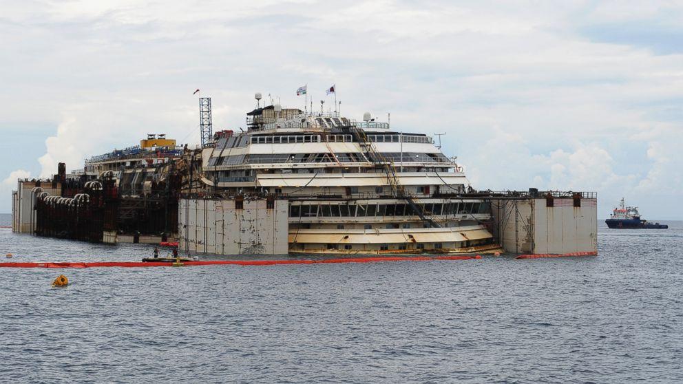 Costa Concordia Today 2015