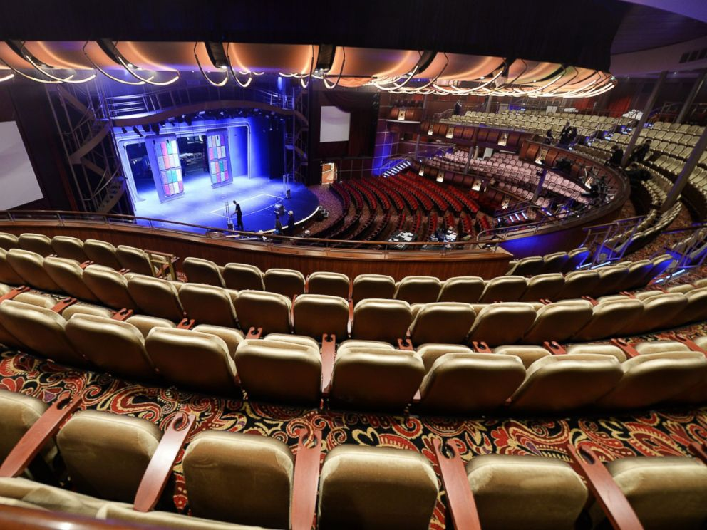 Royal caribbean calls its new cruise ship harmony of the seas a city abc news for The world cruise ship interior