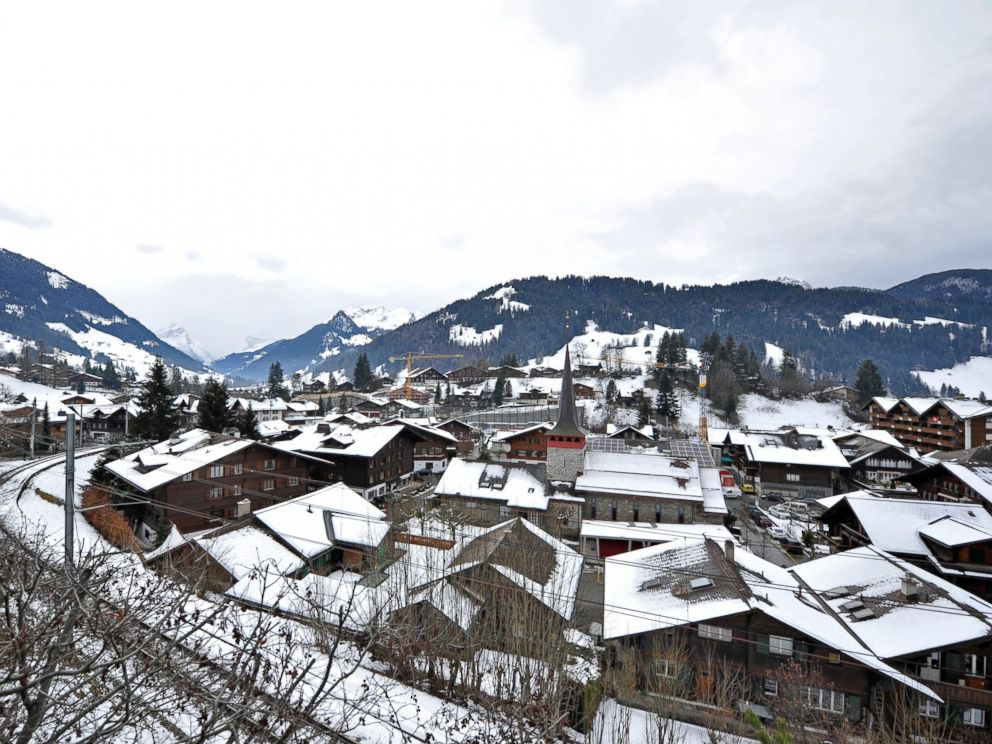 PHOTO: A general view of Gstaad, Switzerland, Jan. 16, 2014.
