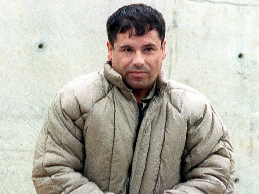 PHOTO: Joaquin Guzman Loera, alias El Chapo Guzman is shown at the high security prison of Almoloya de Juarez, outskirts of Mexico City, July 10, 1993.