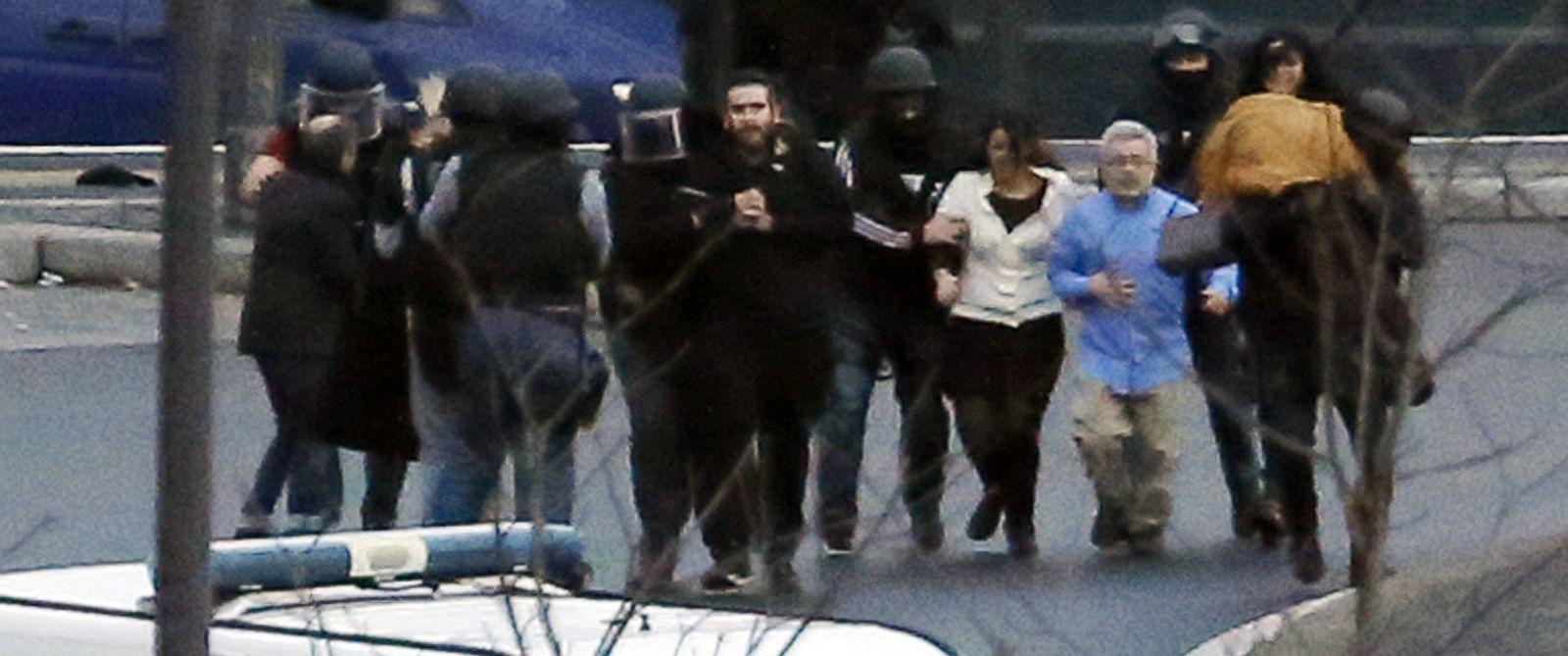 explosives found at site of paris market standoff abc news