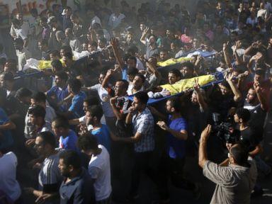 Israeli Strike Kills Four Boys Playing on Gaza Beach