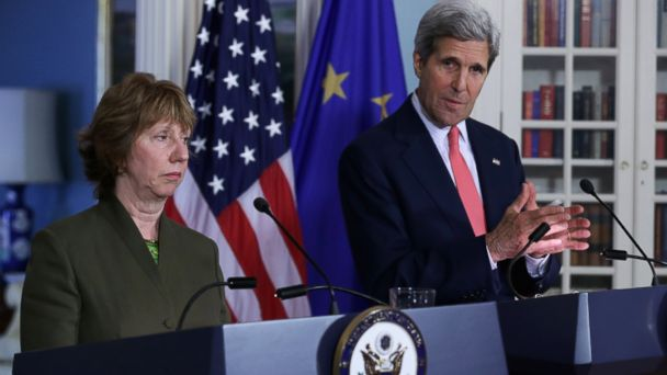 GTY john kerry kab 140506 16x9 608 Nigeria Wanted to Go It Alone to Find Kidnapped Schoolgirls, Kerry Says