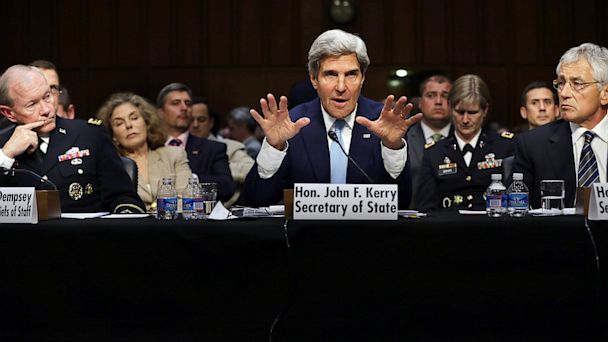 GTY john kerry nt 130903 16x9 608 Iran is Key to Obamas Case For Syria Strikes