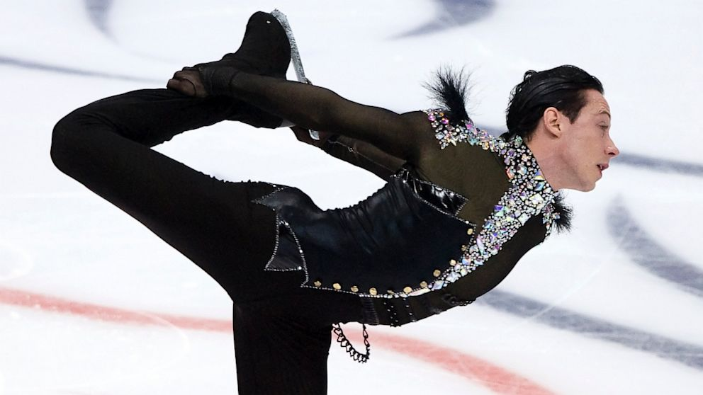 PHOTO: Johnny Weir of United States skates in the Men Short Program during ISU Rostelecom Cup of Figure Skating 2012 at the Megasport Sports Center, Nov. 9, 2012 in Moscow.