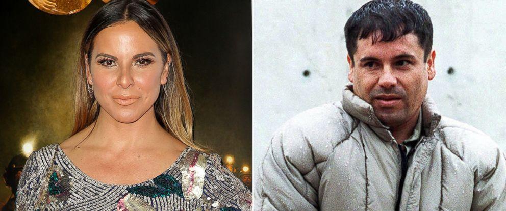 """PHOTO: Kate del Castillo, left, and Joaquin """"El Chapo"""" Guzman."""