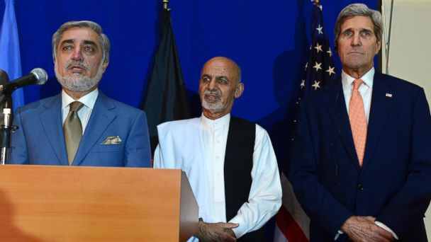 GTY kerry afghanistan sk 140808 16x9 608 Why John Kerry Made a Secret Trip to Afghanistan