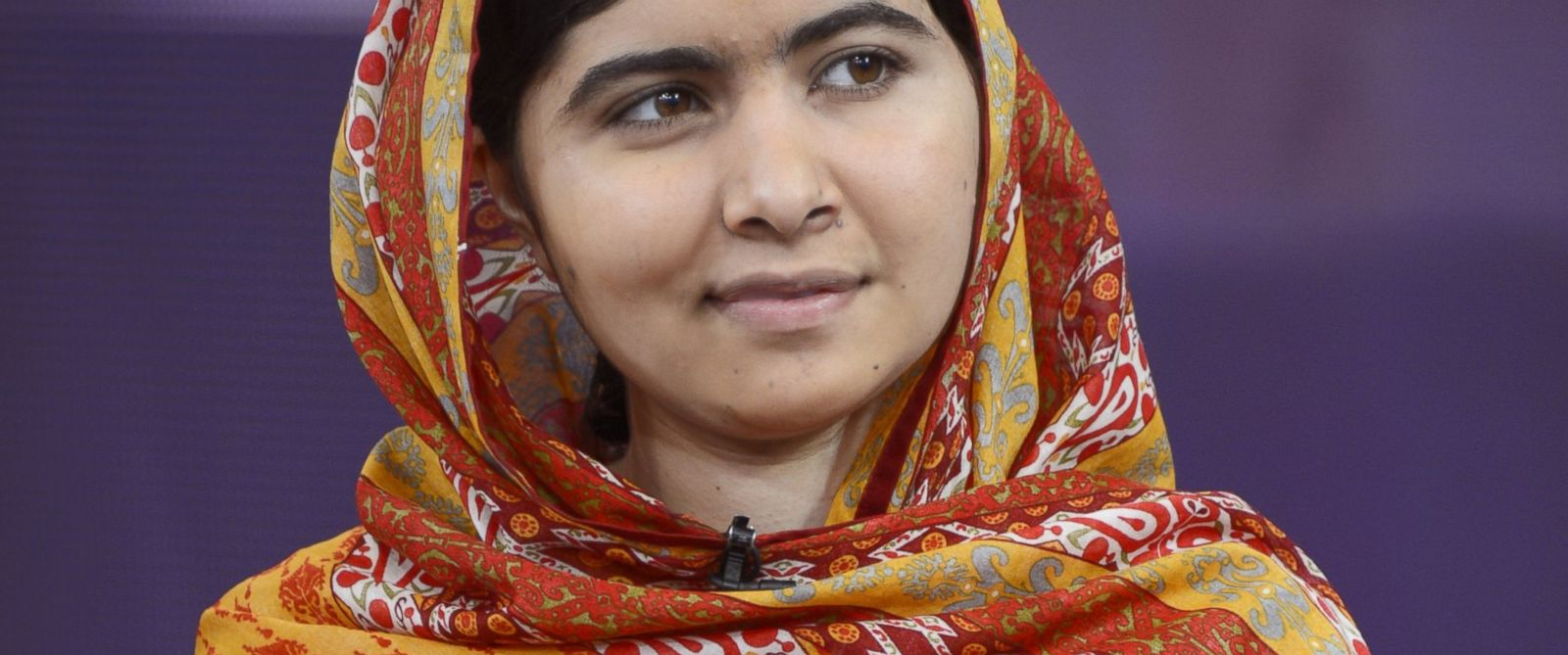 "PHOTO: Malala Yousafzai appears on the Aug. 18, 2014 episode of ""Good Morning America."""