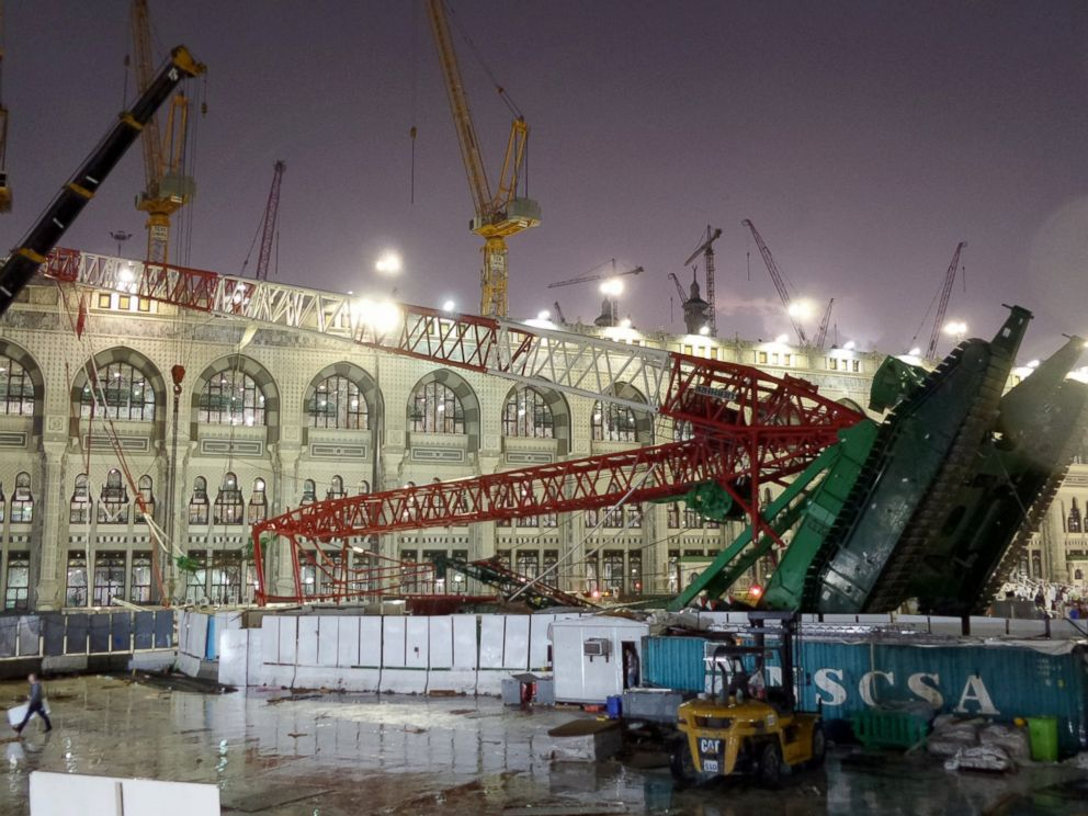 モスク Update: More Than 100 Dead In Mecca Crane Collapse