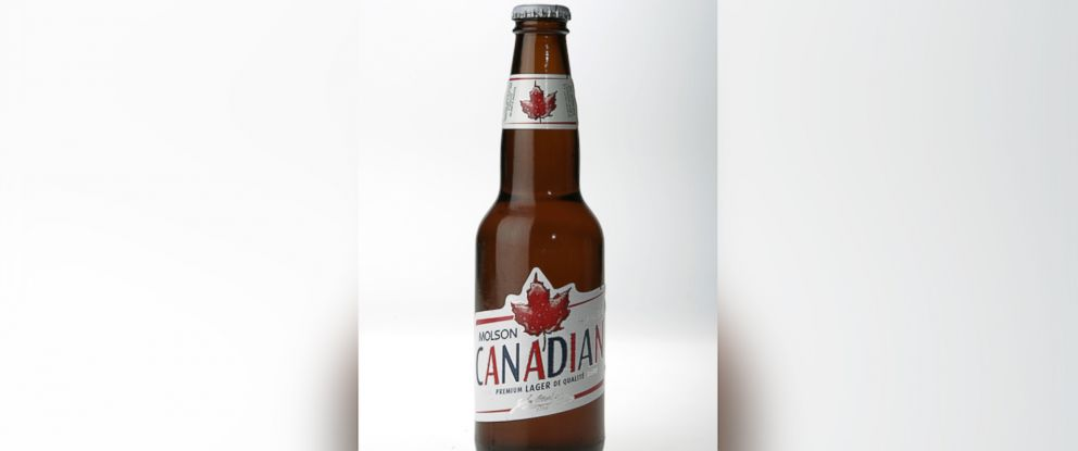 "PHOTO: A Molson Canadian beer fridge only opens when ""O Canada"" is performed correctly and in its entirety."