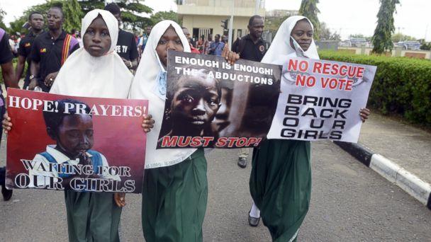 GTY nigerian girls tk 140505 16x9 608 FBI Poised to Head to Nigeria to Help Rescue Kidnapped Girls