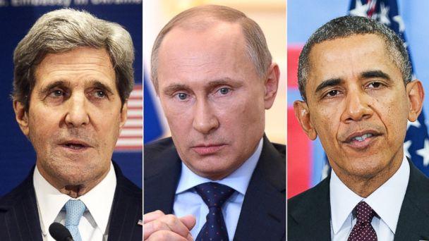 GTY obama putin kerry2 kab 140304 16x9 608 Obama, Kerry Level One Two Punch Against Putin
