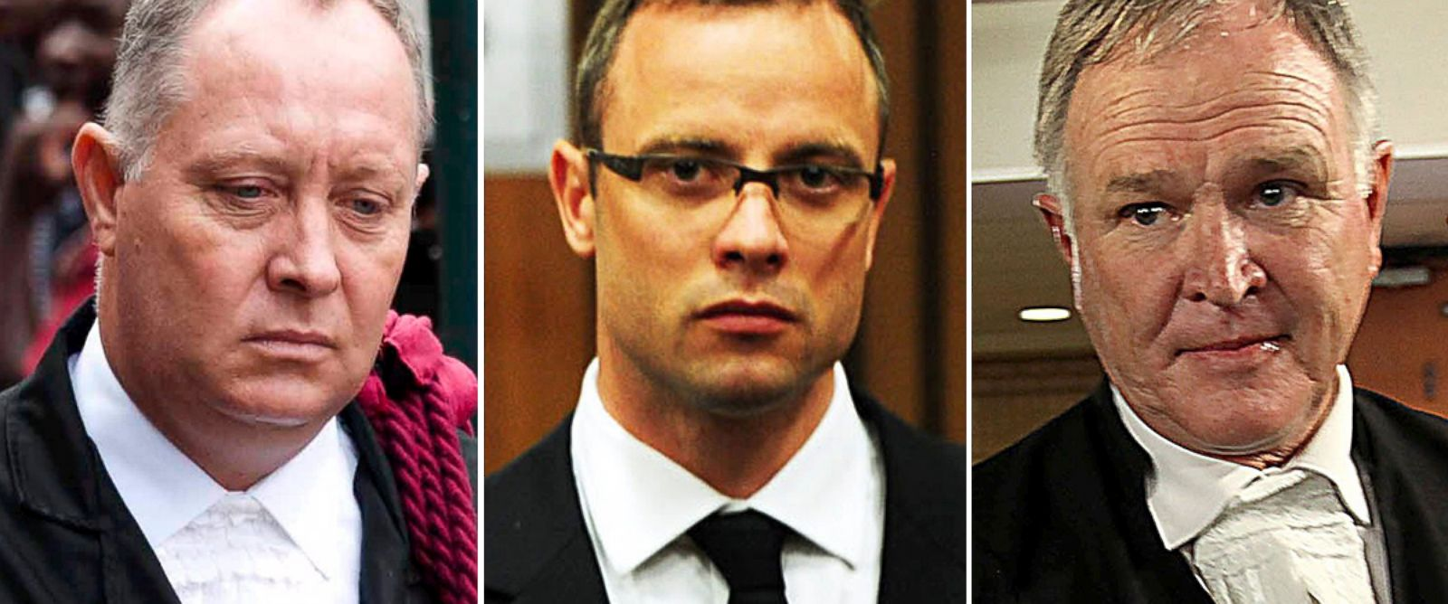 PHOTO: Kenny Oldwadge, Oscar Pistorius, Barry Roux