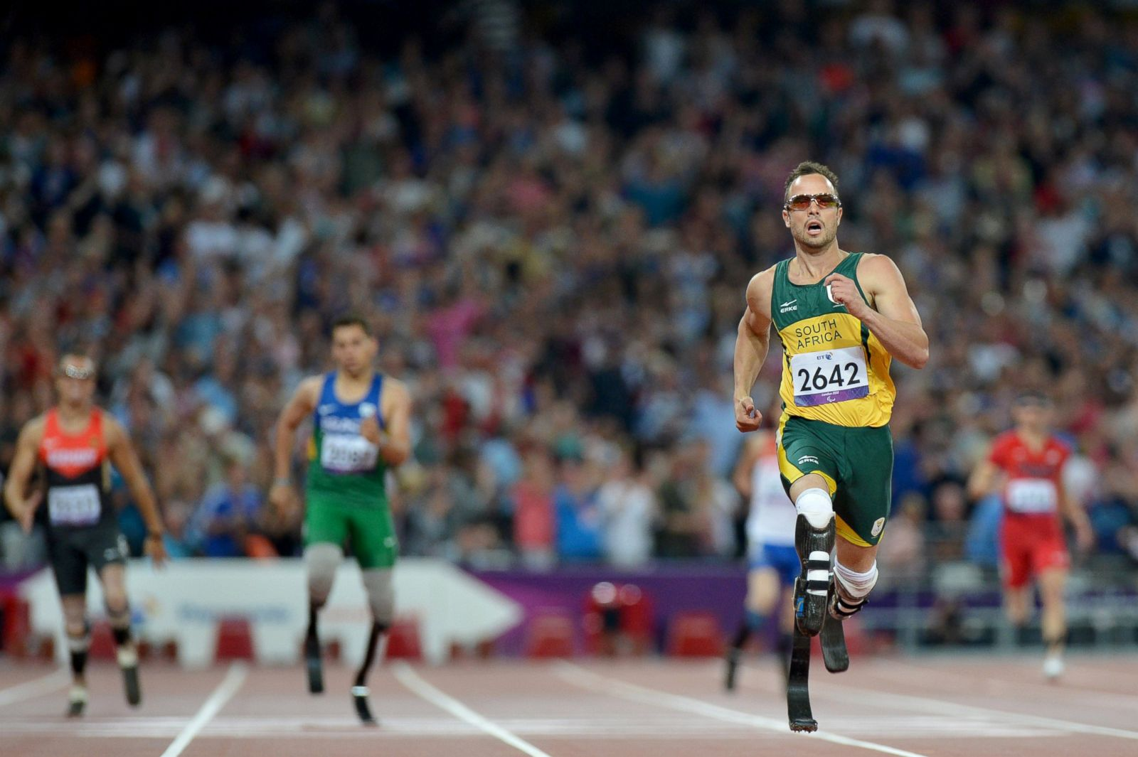 picture scenes from oscar pistorius murder trial   abc news