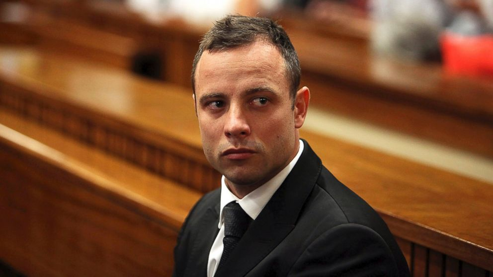 PHOTO: In this file photo, Oscar Pistorius is pictured in court on March 5, 2014 in Pretoria, South Africa.