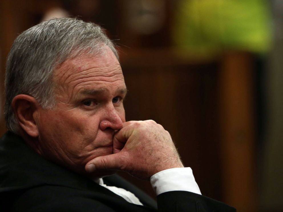 PHOTO: Defence lawyer Barry Roux, who represents paralympian Oscar Pistorius