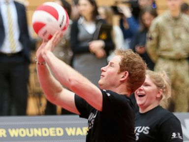 Photos: Prince Harry Gets Sporty