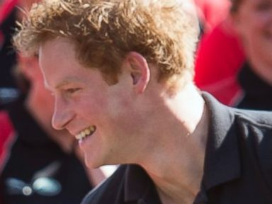 Prince Harry Cracks a Smile at the Invictus Games