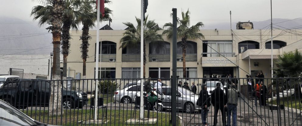 PHOTO: View of the facade of the women prison in Iquique, Chile, Aug. 28, 2012.