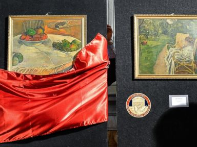 Stolen Paintings Worth $50M in Auto Worker's Home