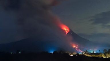 PHOTO: Up in Ash: Mount Sinabung Erupting