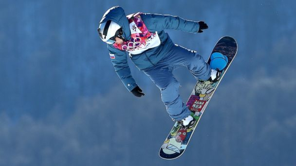 GTY sochi alexey sobolev jt 140209 16x9 608 Snowboarders Phone Bombarded with Texts, Naked Pics after Putting Number on Helmet