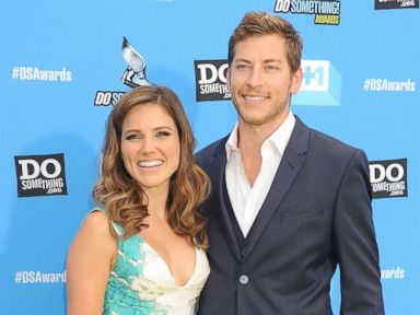 PHOTO: Host Sophia Bush (L) and Google executive Dan Fredinburg arrive at the DoSomething.org and VH1s 2013 Do Something Awards at Avalon on July 31, 2013 in Hollywood, Calif.