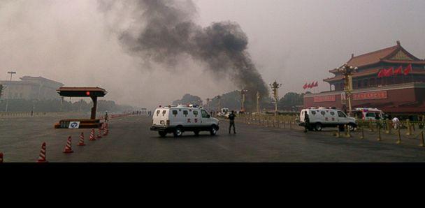 GTY tiananmen square crash jef 131030 v33x16 33x16 608 Beijing Calls Tiananmen Crash Terrorist Act, Detains Five