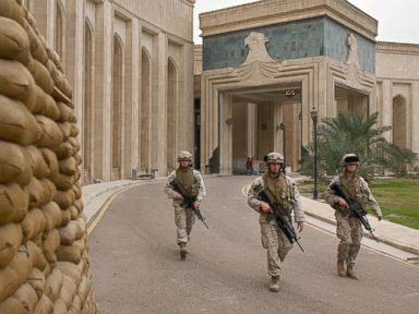 Inside the U.S. Embassy in Iraq Under Threat
