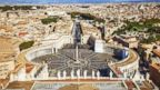 PHOTO: Aerial view of Vatican City.