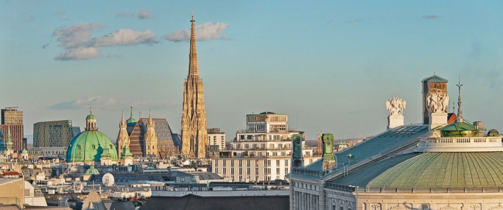 PHOTO: A view over Vienna, March 3, 2015.