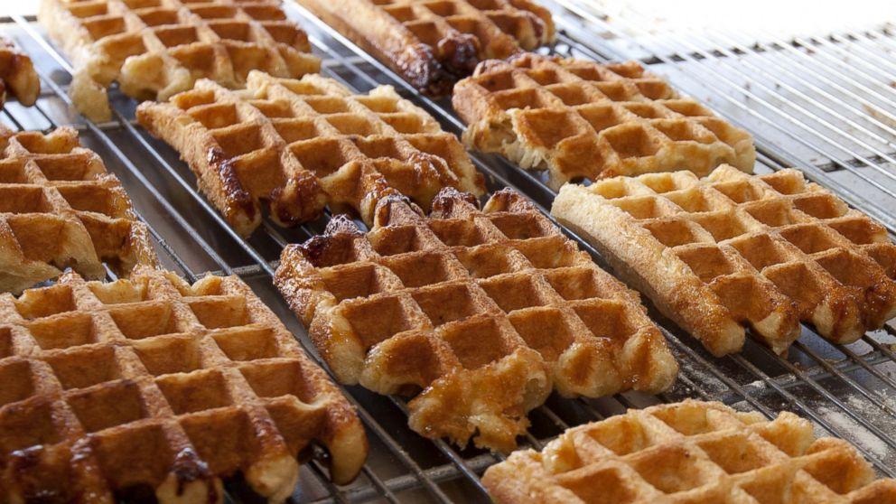 PHOTO: Belgian waffles.