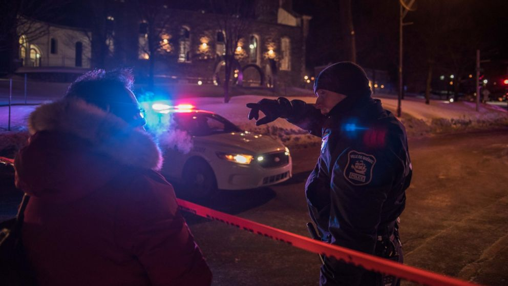 Mosque Shooting Picture: 6 Dead, 8 Injured In 'Terrorist Attack On Muslims' At