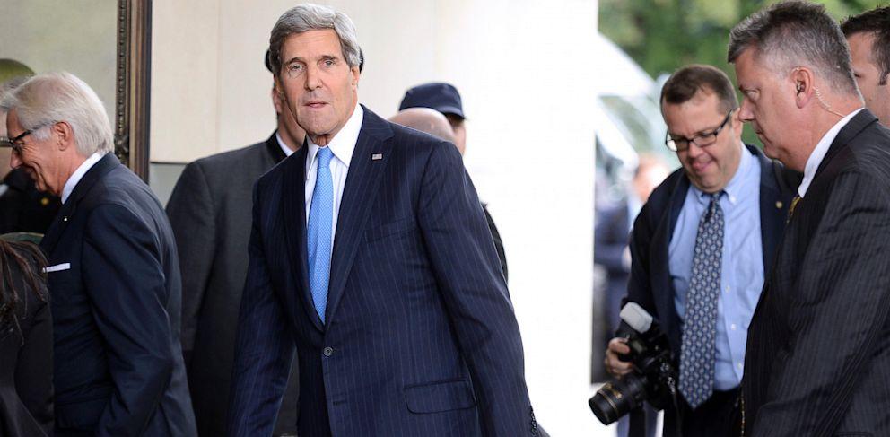 PHOTO: US Secretary of State John Kerry