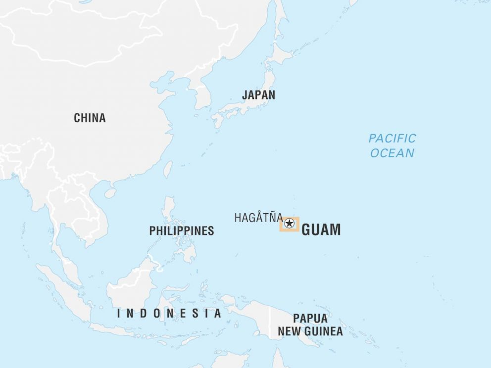 Trump to Guam: 'Don't worry about a thing'