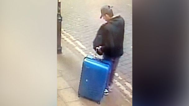 PHOTO: The Greater Manchester Police released a photo of Manchester bomber suspect Salman Abedi carrying a blue suitcase between May 18 and May 22.