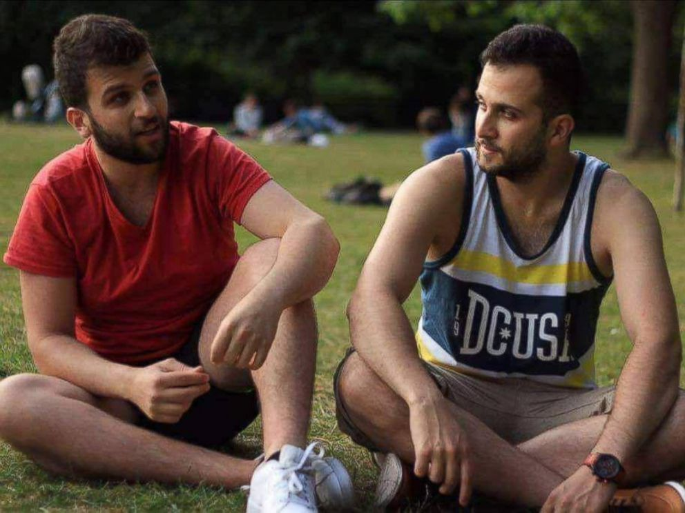 PHOTO: Brothers Mohammed and Omar Alhajali lived together on the 14th floor of the Grenfell Tower in London.