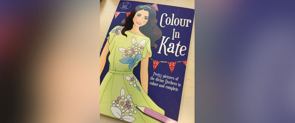 PHOTO: A new coloring book featuring the Duchess of Cambridge is now on sale at the Kensington Palace bookstore.