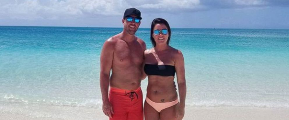 PHOTO: Kevin and Tiffany Newman on vacation in Turks and Caicos.