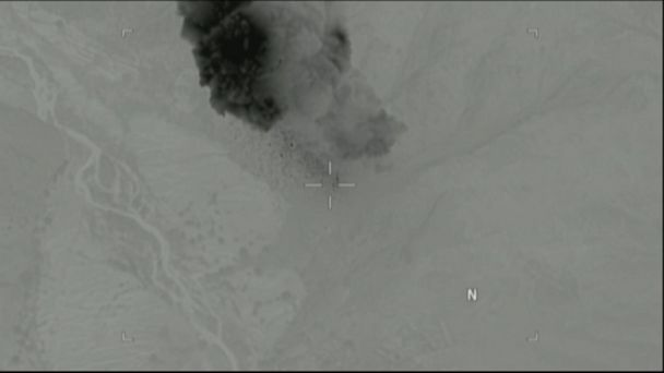 PHOTO: The U.S. Department of Defense released this video of the Massive Ordinance Air Blast (MOAB) being deployed in Afghanistan.
